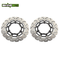 BIKINGBOY Front Brake Disc Rotor for BMW R 850 1100 R RT RS GS ABS 94 03 95 K K1 100 1000 1100 RS LT ABS 89 00 KL 1100 ABS 89 08