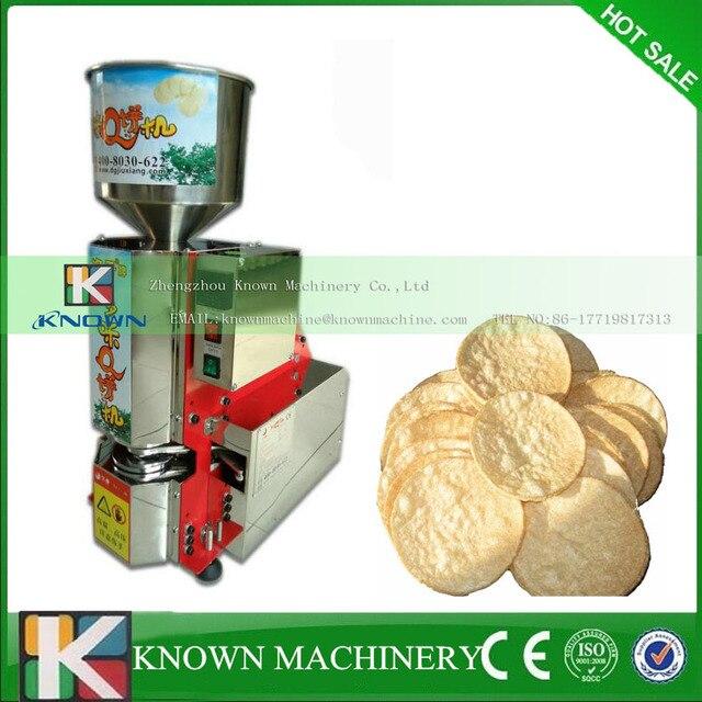 Heißer Verkauf Pop Reiskuchen Maschine Delice Reiskuchen Maschine Reis  Kuchen Hersteller