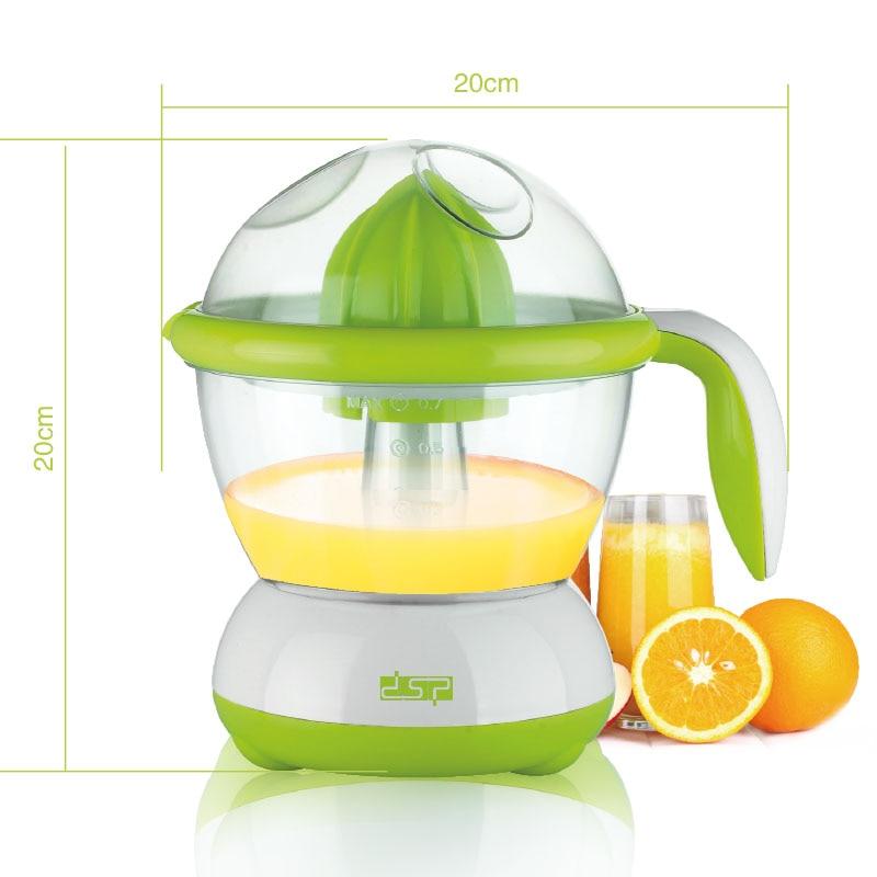 Купить с кэшбэком DSP Automatic Electrical Citrus Juicer Orange Lemon Squeezer Fruit juice squeezer Press Reamer Machine DIY juicer extractor