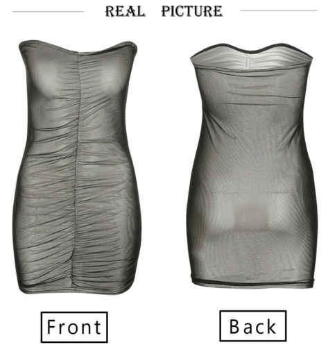 Для женщин пикантные летние бинты сетки Вечеринка облегающее платье мини
