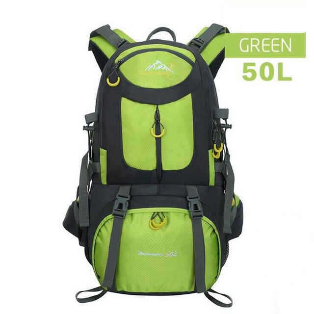 b52b1a7286 Women s Men  Outdoor Sport Bags Camping rucksack Brand Pro Climbing  Backpacks Waterproof Hiking Trekking Backpack mochila Unisex