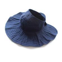 Summer Woman Sun Hat Female Solid Color Cap Korea Wild Fashion Ride Folding Sun HatS Empty Top Hats Beach Wide Brim Visor Hat