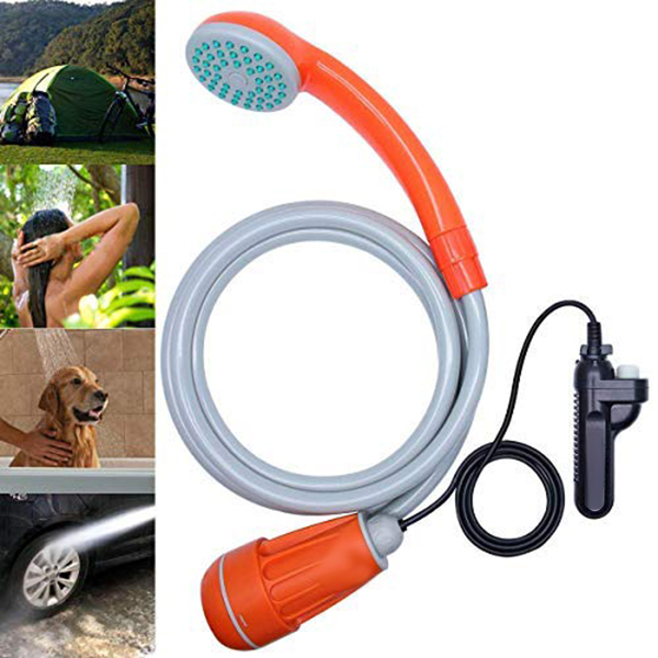 NEW Camping Shower 12V Electric Outdoor Shower Bag Kit For Travel Car Washing Water Bag Kit Hiking Flowering Plants Watering