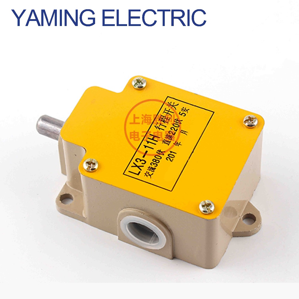 цена на P249 LX3-11H Push Plunger Actuator AC 380V/5A DC 220V/5A Momentary Enclosed Limit Switch with aluminum shell