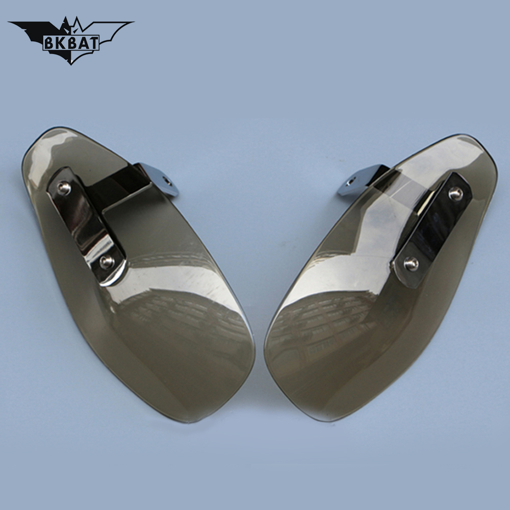 Motorcycle Handguards Windshield Motocross Hand guard For bajaj ns 200 pulsar HONDA MSX 125 <font><b>XJR</b></font> <font><b>1300</b></font> <font><b>YAMAHA</b></font> VMAX 1200 <font><b>YAMAHA</b></font> BWS image