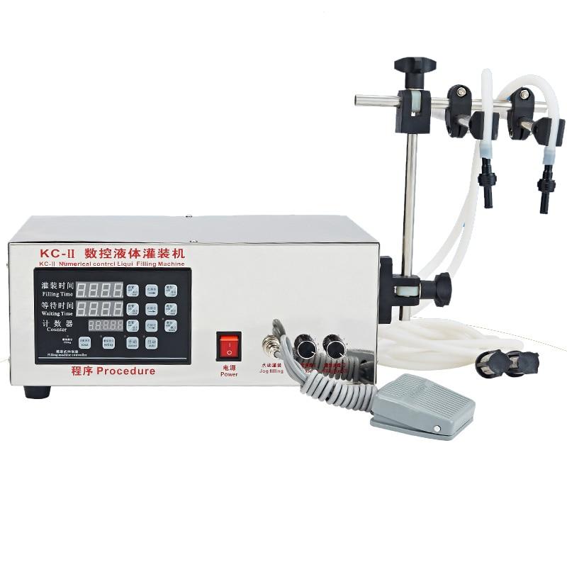 New KC 280II Electric CNC Semi Automatic Precision Liquid Filling Machine Corrosion NC