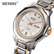 MENDIO Mens Automatic Mechanical Watch Man watches Relogio Masculino Luxury Fashion Business Male Wristwatch 50m Waterproof 1027