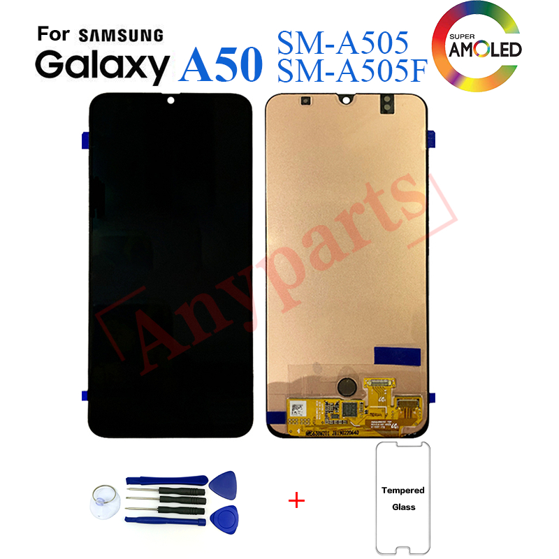 Original For Samsungs Galaxy A50 SM-A505F Display lcd Screen replacement for Samsung A50 A505 A505F display lcd screen moduleOriginal For Samsungs Galaxy A50 SM-A505F Display lcd Screen replacement for Samsung A50 A505 A505F display lcd screen module