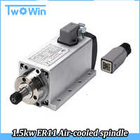 New! 1.5kw spindle motor air cooled motor cnc spindle motor machine tool spindle High Quality