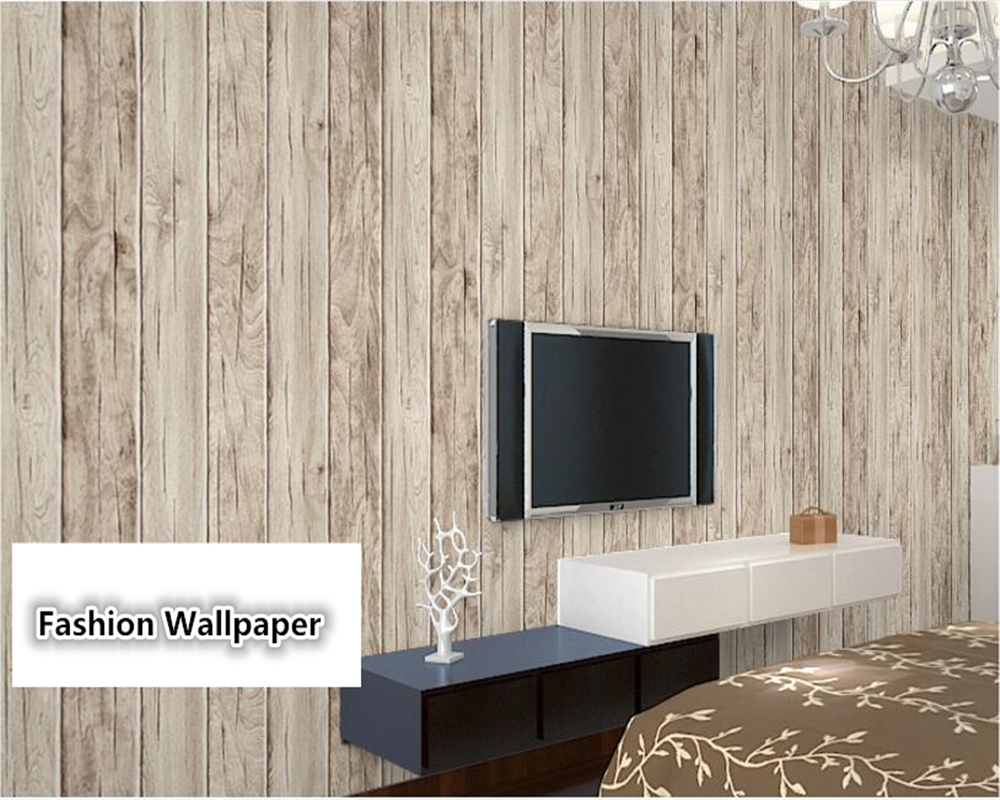 beibehang wall papers home decor Wood grain ceiling Chinese vintage old simulation realistic wood dining room study 3d wallpaper vintage wood grain flannel skidproof rug