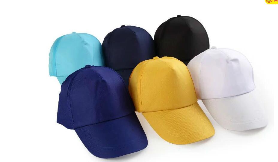 2019 nuevo color sólido casual gorra de béisbol