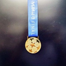 2019 Madrid 19 Final European Football League Champions Golden Medal Cheap Metal Award Replica Fans Memento Collection Wholesale