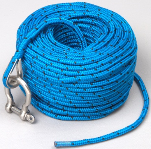 US $19 99 |Marine Boat Suitable TRAC Premium Anchor Rope for all electric  winches 100'(30m) x 3/16