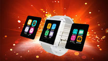 5Pcs/Lot, Free Ship U8 Bluetooth Smart Watch 1.44″ Touch Screen 230mah Battery Pedometer Remote Camera Push Message, etc