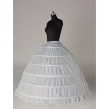 Quinceanera Underwear Crinoline 6 Hoop Petticoat Crinoline For Ball Gown Dress Wedding Accessories Underskirt For Wedding Dress