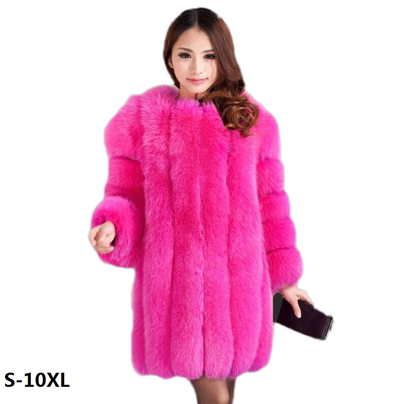High womens faux fur coat 2017 fashion new long section of white fur coat female splicing fur coat high quality faux fur coats pearl beading textured faux fur coat