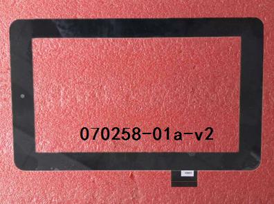 Novo original de 7 polegada tablet tela de toque capacitivo 070258-01a-v2 frete grátis