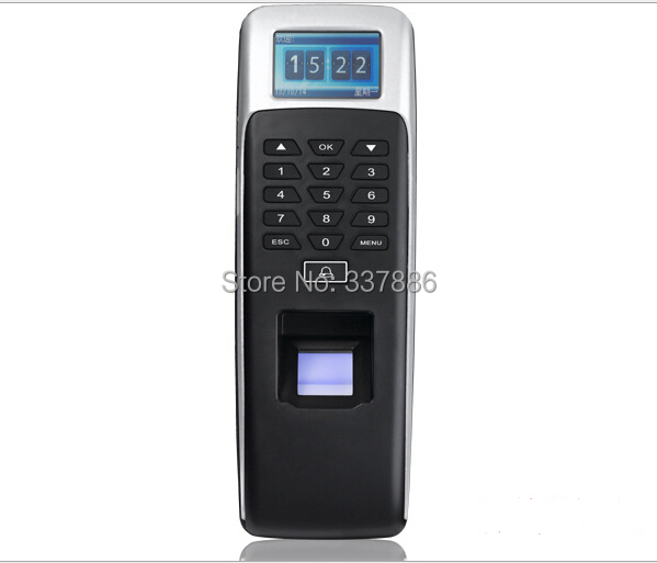 IP65 Waterproof finger print biometrics time attendance and access control with Wiegand 26/34 output.