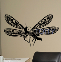 Dragonfly Butterfly Vinyl Wall Decal Beautiful Nature Vinyl Sticker Insects Home Interior Decor Art Murals Children
