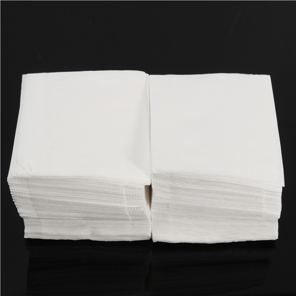 500pcs Empty TEABAGS Non-Woven Fabric Heat Seal Filter Paper Herb Loose Tea Bag Drawstring Pouch Bag Seal Filter Cook Herb Spice