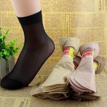 20 pcs /lot women summer socks women crystal short socks for woman   elastic nylon socks & hosiery