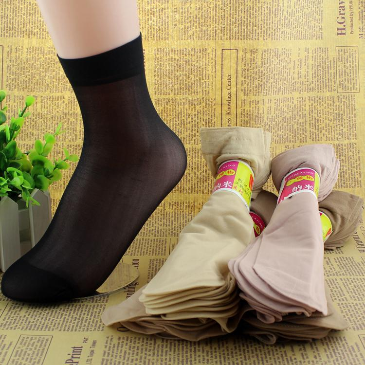 20 pcs /lot Women Summer Socks Women Crystal Short Socks For Woman 2016 Female Elastic Nylon Socks & Hosiery