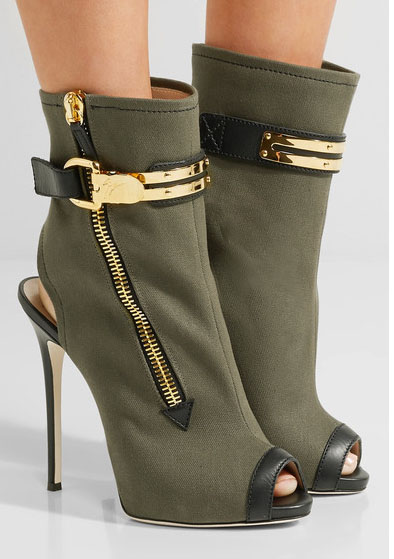 2017 Latest Sexy Party Club Dress Shoes Women Sexy Peep Toe High Heel Booties Mujer Metal Decoration Slingback Ankle Boots