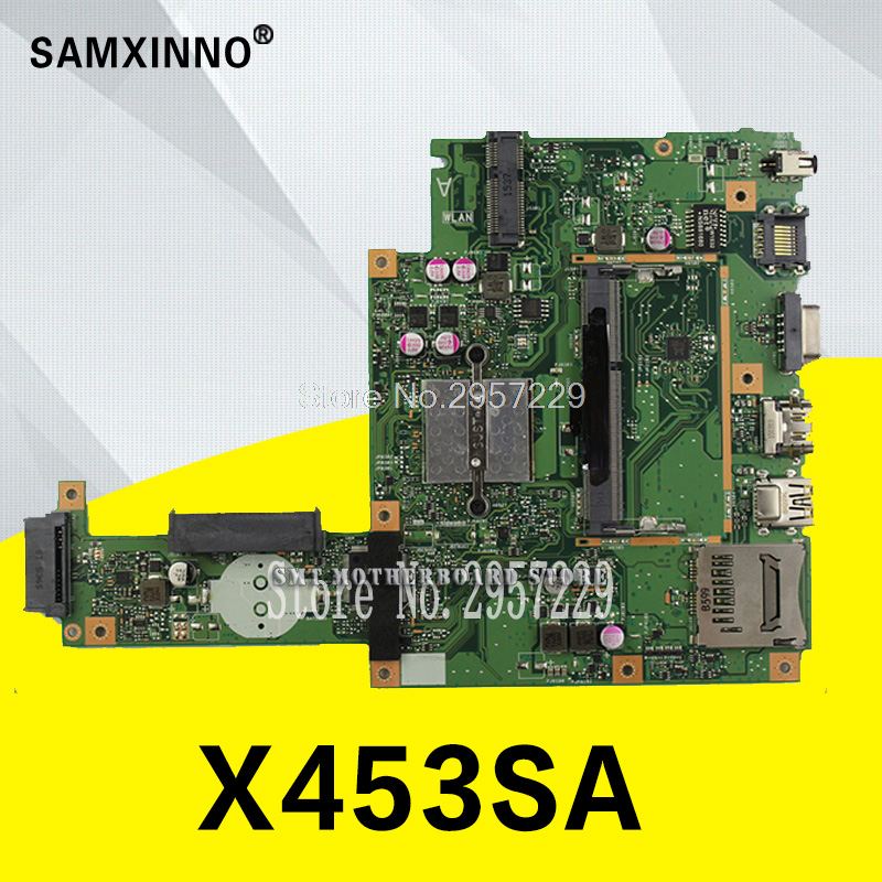 X453SA Motherboard REV:2.0 N3050 For ASUS X453S X453 X403S Laptop Motherboard X453SA Mainboard X453SA Motherboard Test 100% Ok