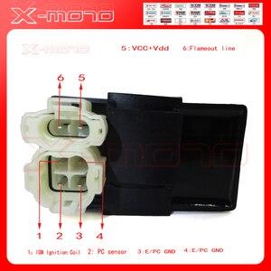 CDI Коробка с зажиганием постоянного тока, 6 контактов, для gy6, 125 куб. См, 150 куб. См, 200 куб. См, 250 куб. См, квадроциклов, мопедов, скутеров, багги, к...