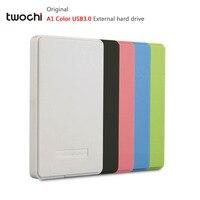 New Styles TWOCHI A1 Color Original 2 5 External Hard Drive 250GB USB3 0 Portable HDD