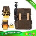 CADEN Backpacks Camera Canvas Bags Soft Shoulders Bag For Men Big Capability  Tripod Camera Backpack For Canon Nikon