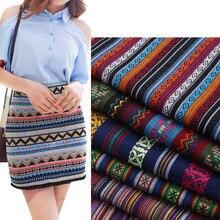 Polyester DIY Fabric Width:150cm Traditional Chinese Silk Fabric For Sewing Skirt Curtain Cloth Ragdoll Telas Por Metros