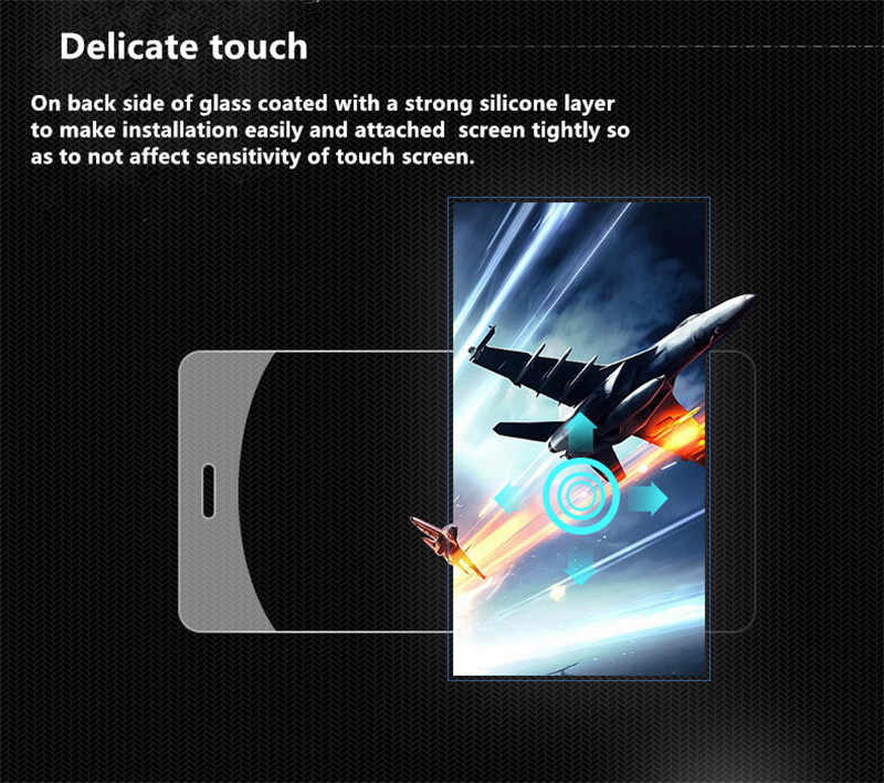 Kính cường lực Dành Cho Camera Hành Trình Blackview A7 A7 Pro A7Pro A8 Max A8Max A10 A20 A30 A60 Tấm Bảo Vệ Màn Hình Bảo Vệ Bộ Phim Bảo Vệ