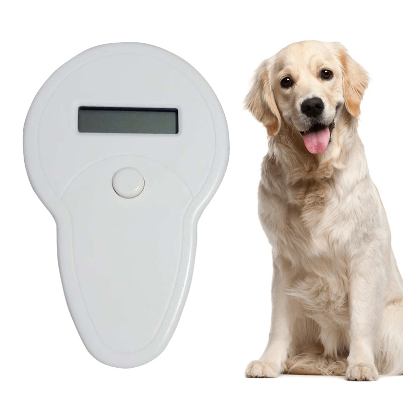 Animal Cat Dog Microchip Recognition Reader Tag Portable Mini Pet Tracking Finder Anti Lost GPS Locator Hot Sale