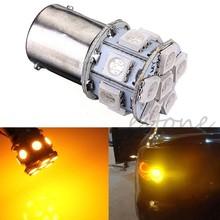 цена на 12V Amber 1156 BA15S P21W 13-LED 5050 SMD Car Turn Tail Signal Light Lamp Bulb