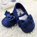 Stylish Toddler Bowknot Crib Shoes Baby Shoes Girl Soft Sole Chic Prewalker