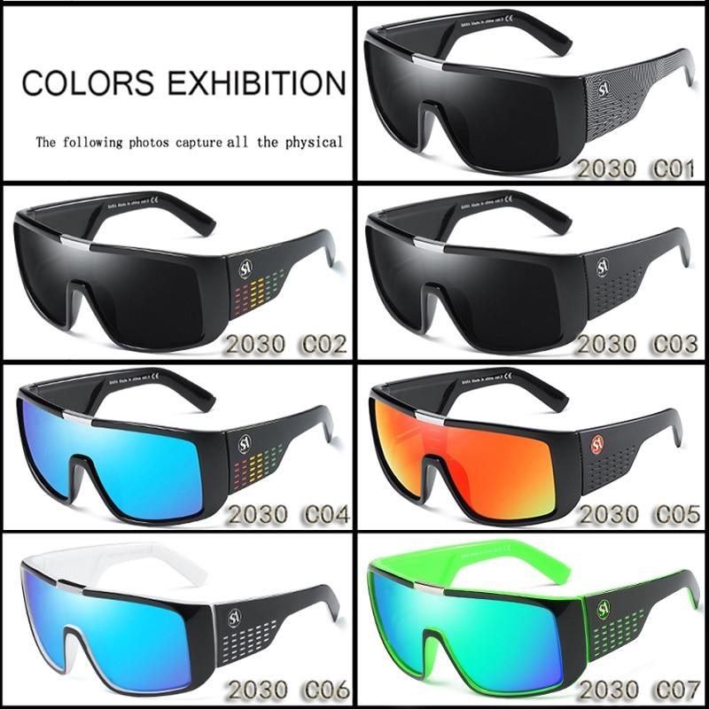 SARA Marque De Mode lunettes de Soleil Hommes Dragon Sport Lunettes Hommes  Lunettes Lunettes de Soleil Femmes Designer Coupe Vent Bouclier En  Plastique ... a3e6648fc925