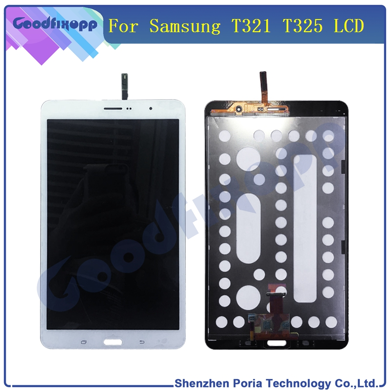 LCD For Samsung GALAXY Tab Pro T321 T325 LCD Display Touch Screen Digitizer SM-T321 T325 Panel LCD Assembly Replacement Parts new 8 for samsung galaxy tab a p350 lcd display with touch screen digitizer sensors full assembly panel lcd combo replacement