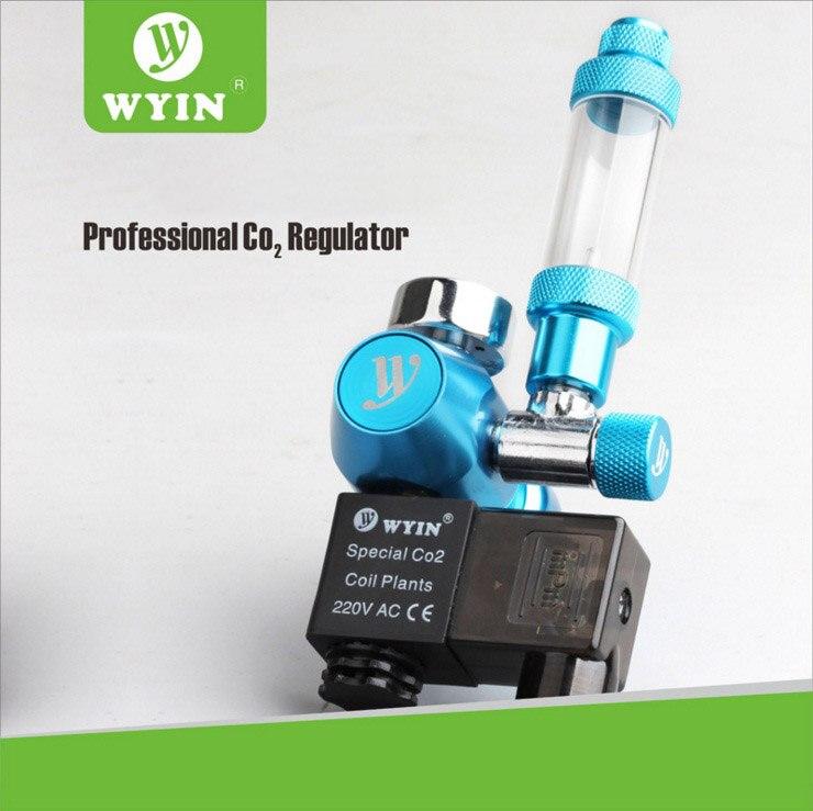 W01 03 Aquarium CO2 Regulator JIS m22 14 W21 8 CGA320 interface check valve bubble counter