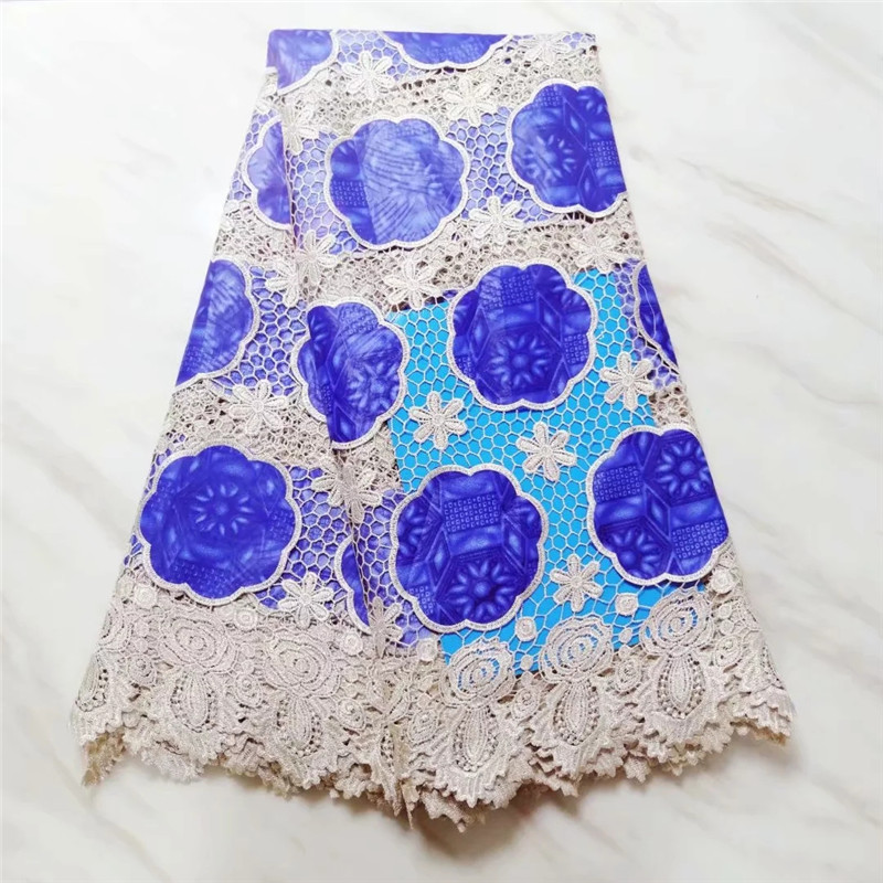 new coming african guipure lace fabric with wax cloth high quality water soluble lace fabric for dress  PL050532new coming african guipure lace fabric with wax cloth high quality water soluble lace fabric for dress  PL050532