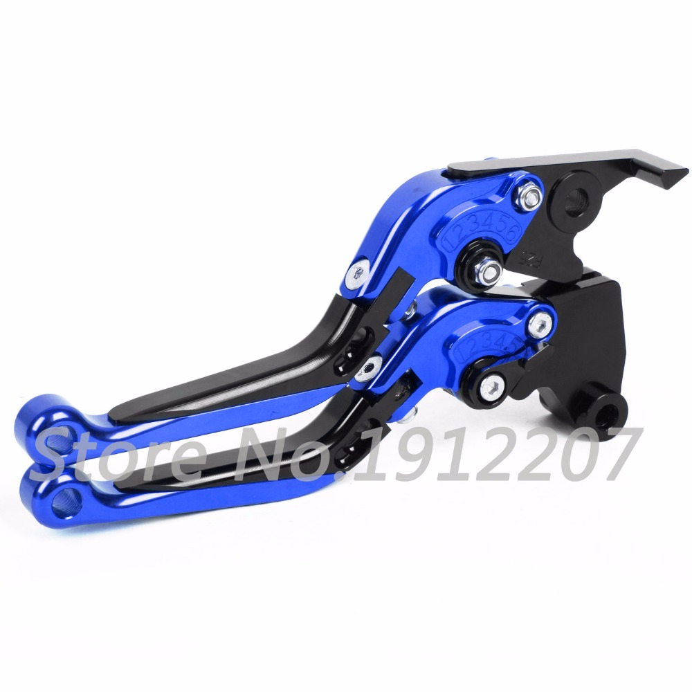 ФОТО For Yamaha  RD500LC  All Years Foldable Extendable Brake Clutch Levers Aluminum Alloy CNC High Quality Folding&Extending