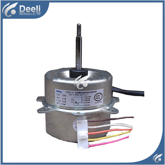 UPS / EMS good working for Air conditioner Fan motor machine motor YDK29-6I 43W good working ups ems dhl 95% new good working for air conditioner inner machine motor fan ydk50 8g 3 7 line