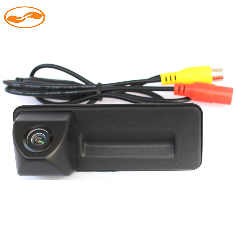 Car Rear View Parking Camera Trunk Handle Night Vision Waterproof for Skoda Superb Roomster Fabia Octavia Yeti