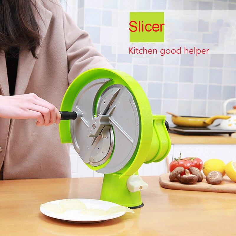 Machine de découpe de Fruits/légumes multifonction à trancheuse manuelle-in Robots culinaires from Appareils ménagers    1