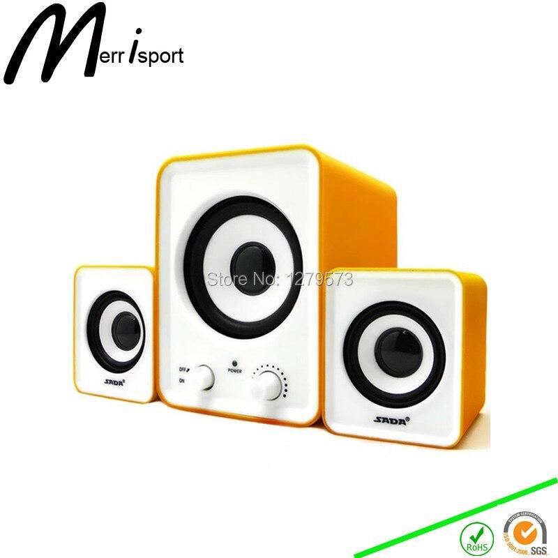 Subwoofer 2.1 Speaker Sound System PC Home Desktop s