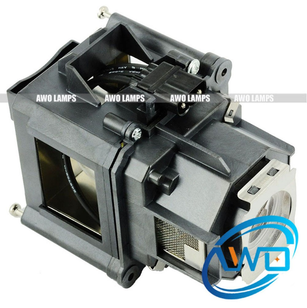 AWO Compatible Replacement Projector Lamp ELPLP47 with Module for EPSON PowerLite G5000/PowerLite Pro G5150NL/EPSON EB-G5100/G51 replacement projector lamp elplp63 for epson powerlite pro g5750wu powerlite pro g5950 h345a h347a h349a powerlite 4200w