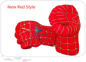 Image 3 - Childrens spiders, boxing, stuffed toys, green gloves, giant fist, childrens Day gifts