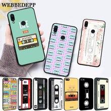 WEBBEDEPP retro classic cassette Design Silicone Case for Xiaomi Redmi 4A 4X 5A 5 Plus S2 6 6A 7 7A K20 Pro Go