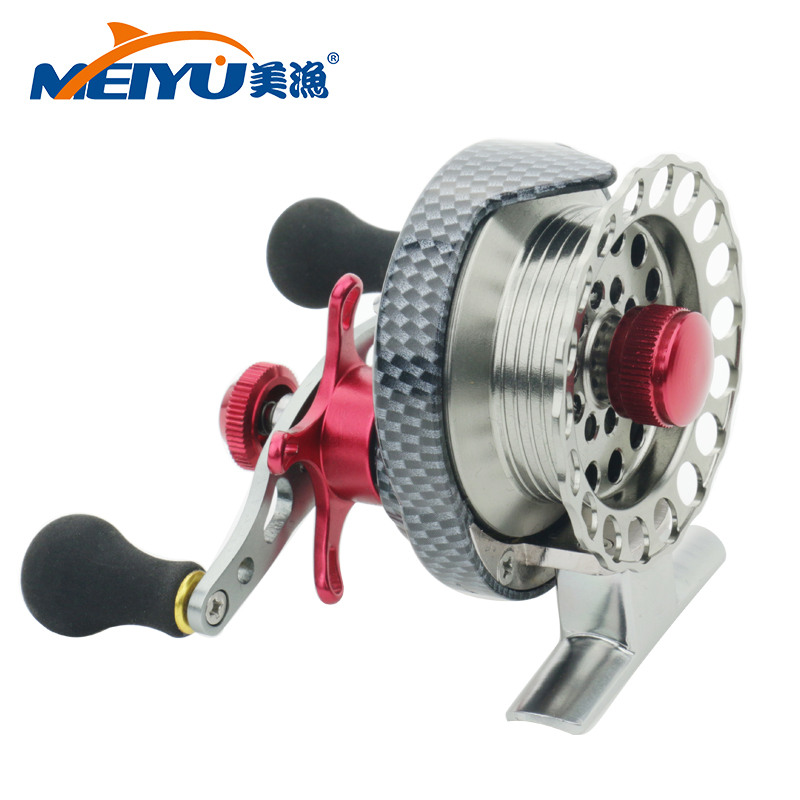 NEW 4+1BB Ball Bearing Metal ice fishing Reels fly fishing reel Machined Aluminum 3.5:1 Ratio Aluminum Alloy Fly Fishing Wheel nunatak original 2017 baitcasting fishing reel t3 mx 1016sh 5 0kg 6 1bb 7 1 1 right hand casting fishing reels saltwater wheel