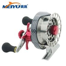 NEW 4+1BB Ball Bearing Metal ice fishing Reels fly fishing reel Machined Aluminum 3.5:1 Ratio Aluminum Alloy Fly Fishing Wheel